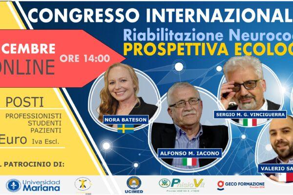 1° Congresso Internazionale Riabilitazione Neurocognitiva: Prospettiva Ecologica